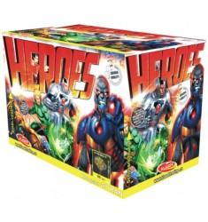 Heroes 40 rán 2x fontána / ohňostroj