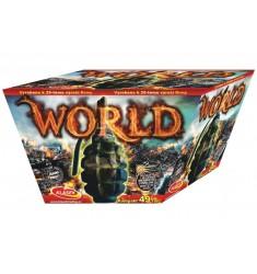 World 49 rán šikmý / ohňostroje