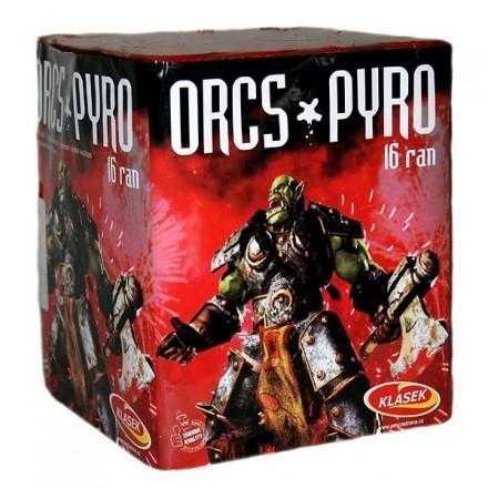 Orcs pyro 16rán / ohňostroje