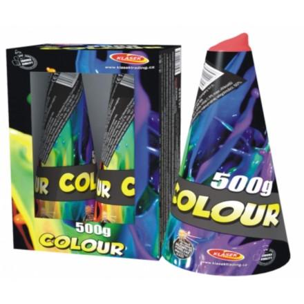 Vulkán farebný  500g 2ks/ Vulkán 5m