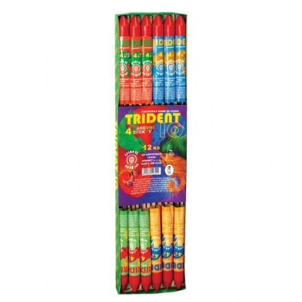 Farebné rakety trident 12ks