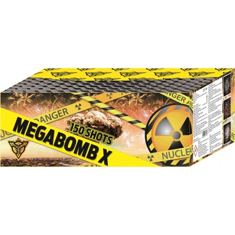 Ohnostroj Megabomb 150r 20mm