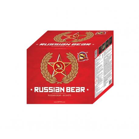 Ohnostroj Ruský medveď 80r 25mm