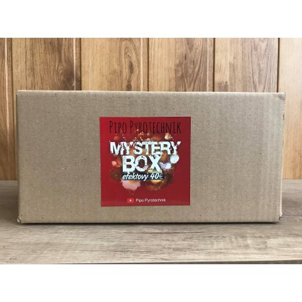 Mystery box Efektový 40€
